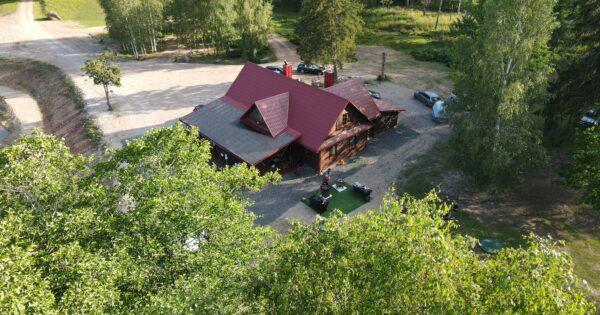 Auksinio elnio slėnis. Sodybos namas