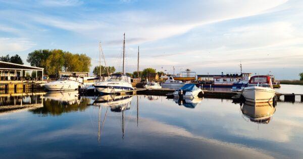 Dreverna. Mažųjų laivų uostas